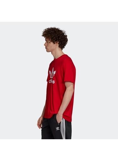 adidas Erkek Trefoil Tişört GD9912 Kırmızı